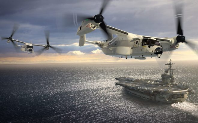 Navy's COD Transition from C-2A to CMV-22B Accelerated; First V-22 Deployment Set for 2021