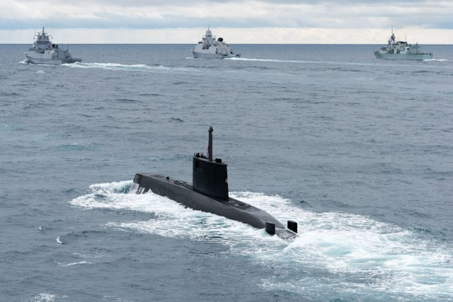 NATO Allies Partner Up for High-End Anti-Submarine Warfare Exercise