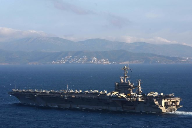 Harry S. Truman Carrier Strike Group Set to Return to Norfolk on Saturday