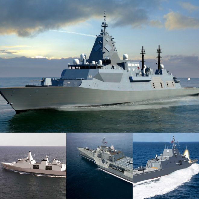 Navy Hopes for Commonality – Or at Least Interoperability – With Frigates in Australia, Canada, U.K.
