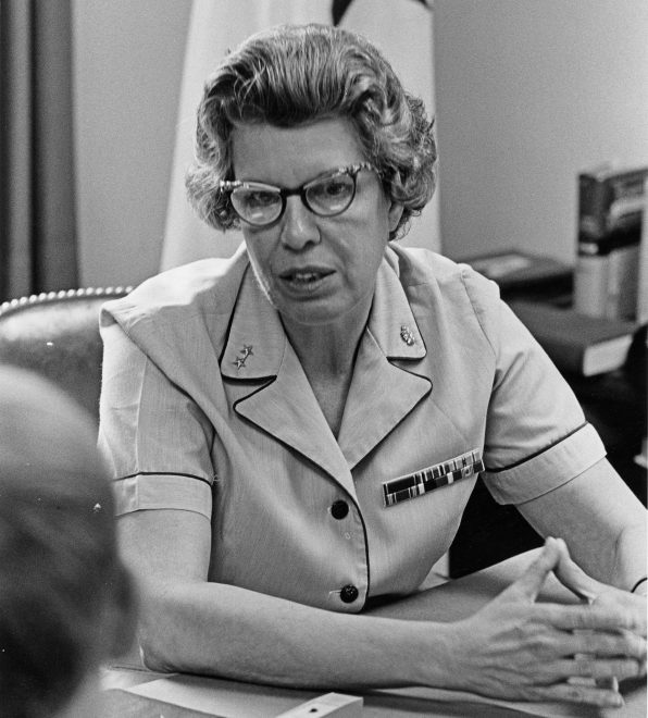 Navy's First Female Flag Officer Rear Adm. Alene Duerk Dies