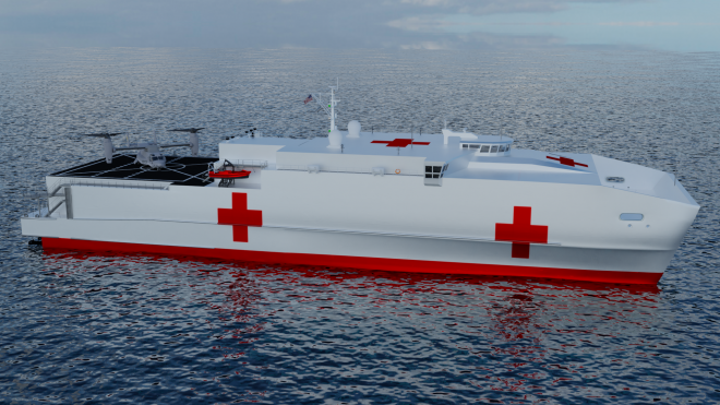 Proposed COVID-19 Relief Package Includes $2.2B for Shipbuilding, 4 Hospital Ships