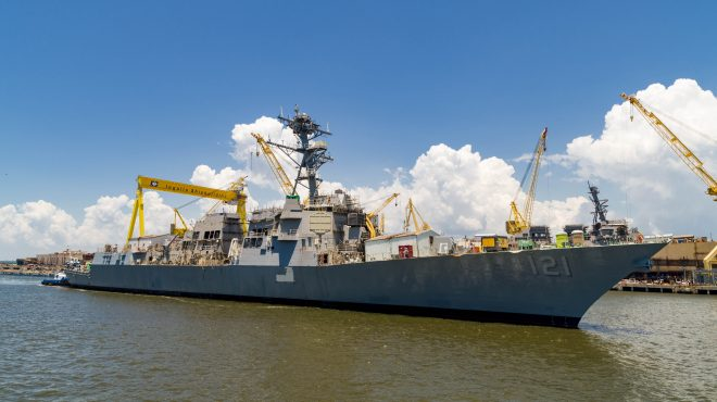 CEO: Steady Flow of Navy Contracts Will Keep HII Building for Years