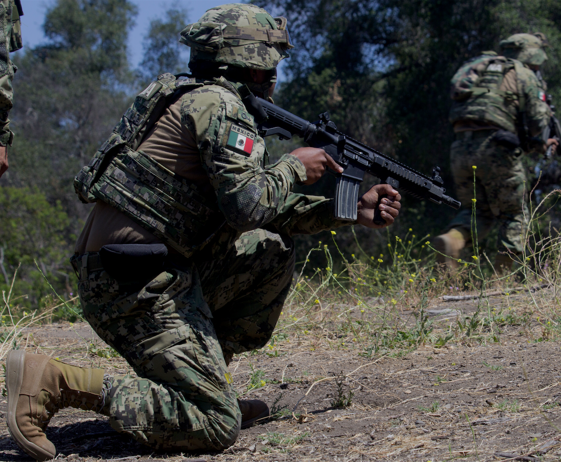 VIDEO: Mexican Marines Hone Infantry Skills in Rim of the