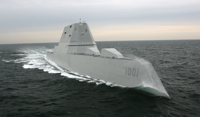 Second Zumwalt Destroyer Needs New Engine After Turbine Blades Damaged in Sea Trials