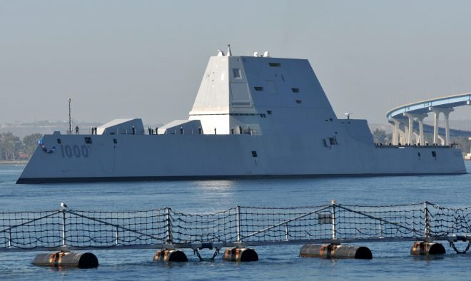 Navy Battle Force Tally Dips By 2, After New Ship-Counting Rules Postpone Zumwalt Destroyers