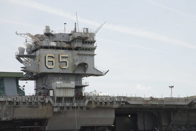 Navy, Civilian Nuclear Regulators Struggling Over How to Dismantle Former USS Enterprise