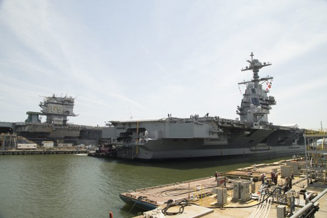 Declining Commercial Nuclear Industry Creates Risk for Navy Carriers, Subs