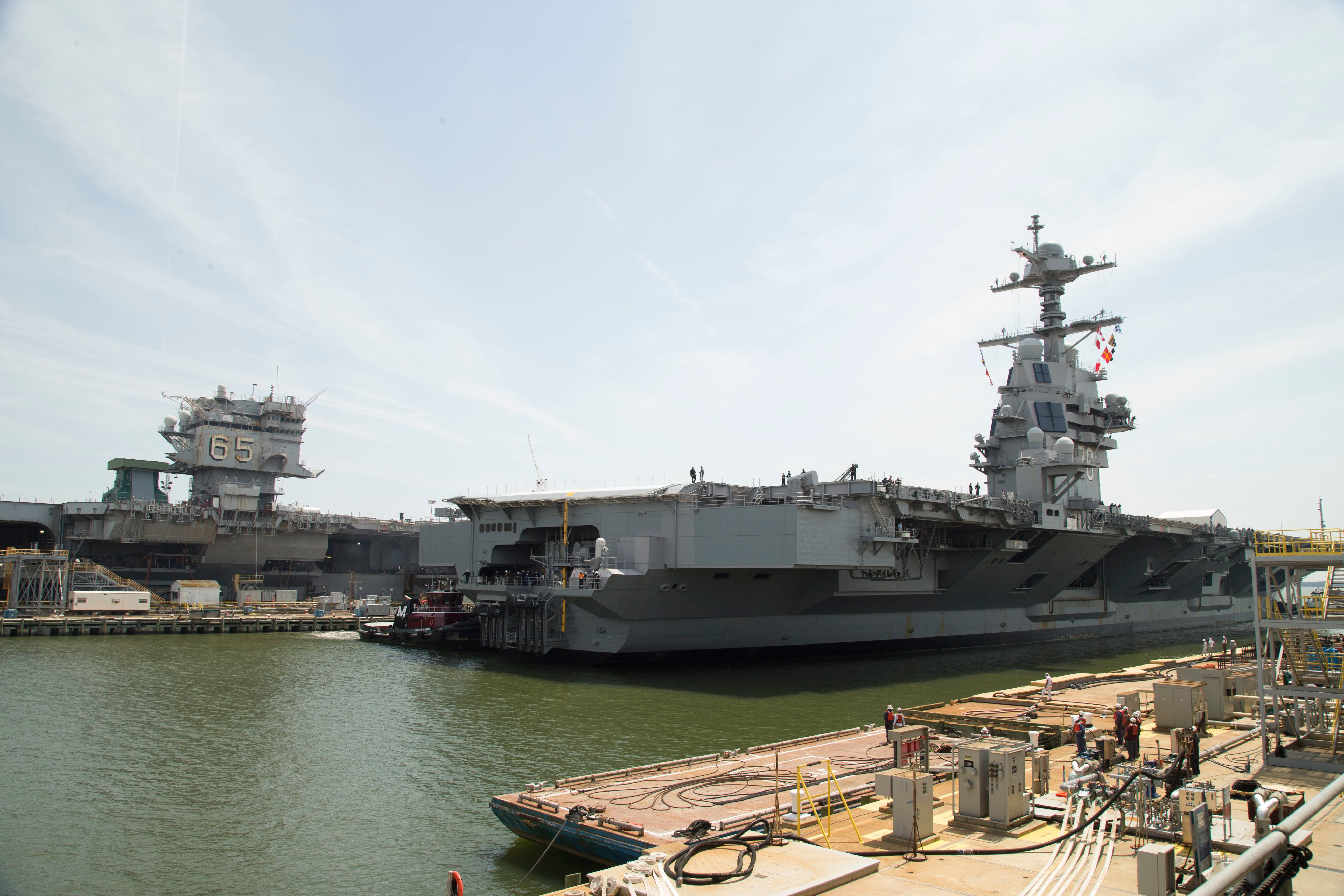 Declining Commercial Nuclear Industry Creates Risk for Navy