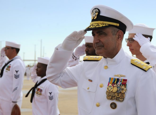 New Commander of Submarine Forces Tells Sailors 'Prepare for Battle'