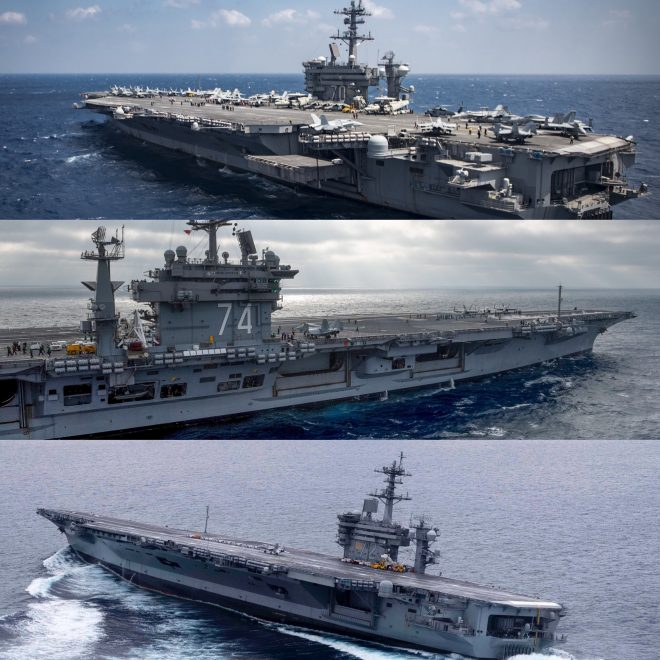 Navy Shifting Homeports of 3 Carriers: Lincoln to San Diego, Stennis to Norfolk, Vinson to Bremerton