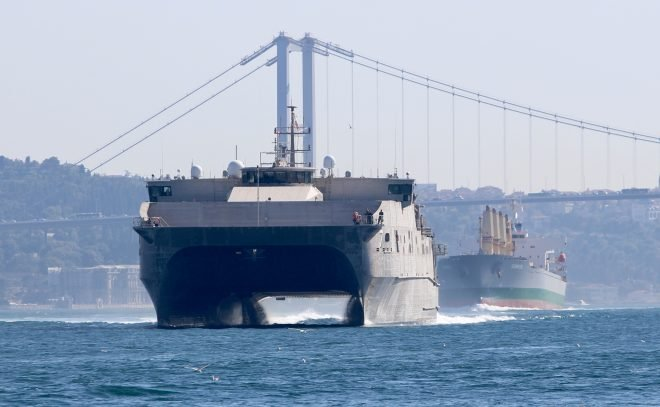 USNS Carson City Conducts First-Ever Black Sea Operation by an Expeditionary Fast Transport