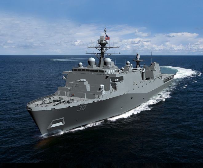 Ingalls Shipbuilding Receives First LPD Flight II Program Funding
