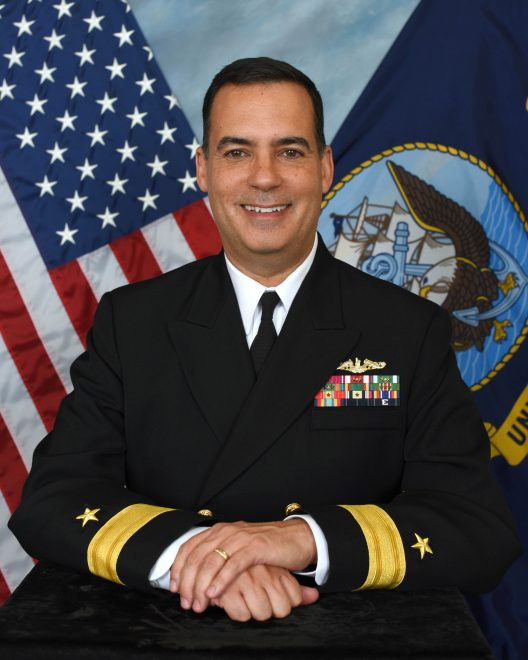 Goggins Assumes Command of PEO Submarines