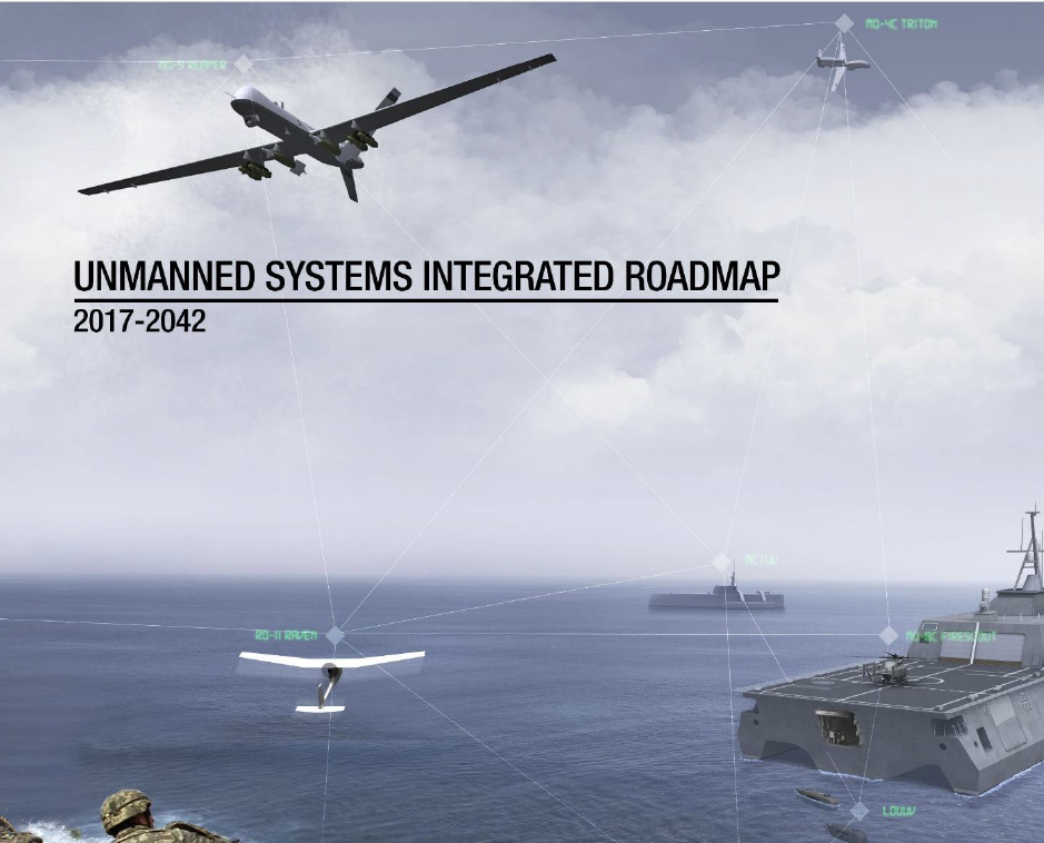 Pentagon Unmanned Systems Integrated Roadmap 2017-2042
