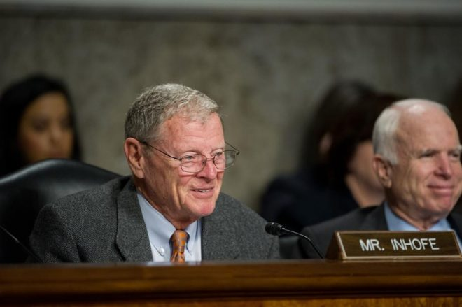 Inhofe Formally Named SASC Chairman; Sullivan Takes Over As Readiness Subcommittee Chair