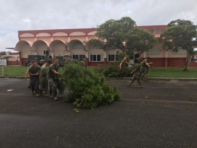 Wasp ESG Completes Typhoon Assistance to Northern Marianas, Guam