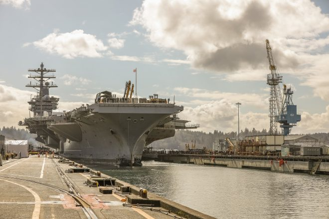Navy Eyes New Ship Repair Contracting to Boost On-Time Delivery; Public Yards' Performance Improving
