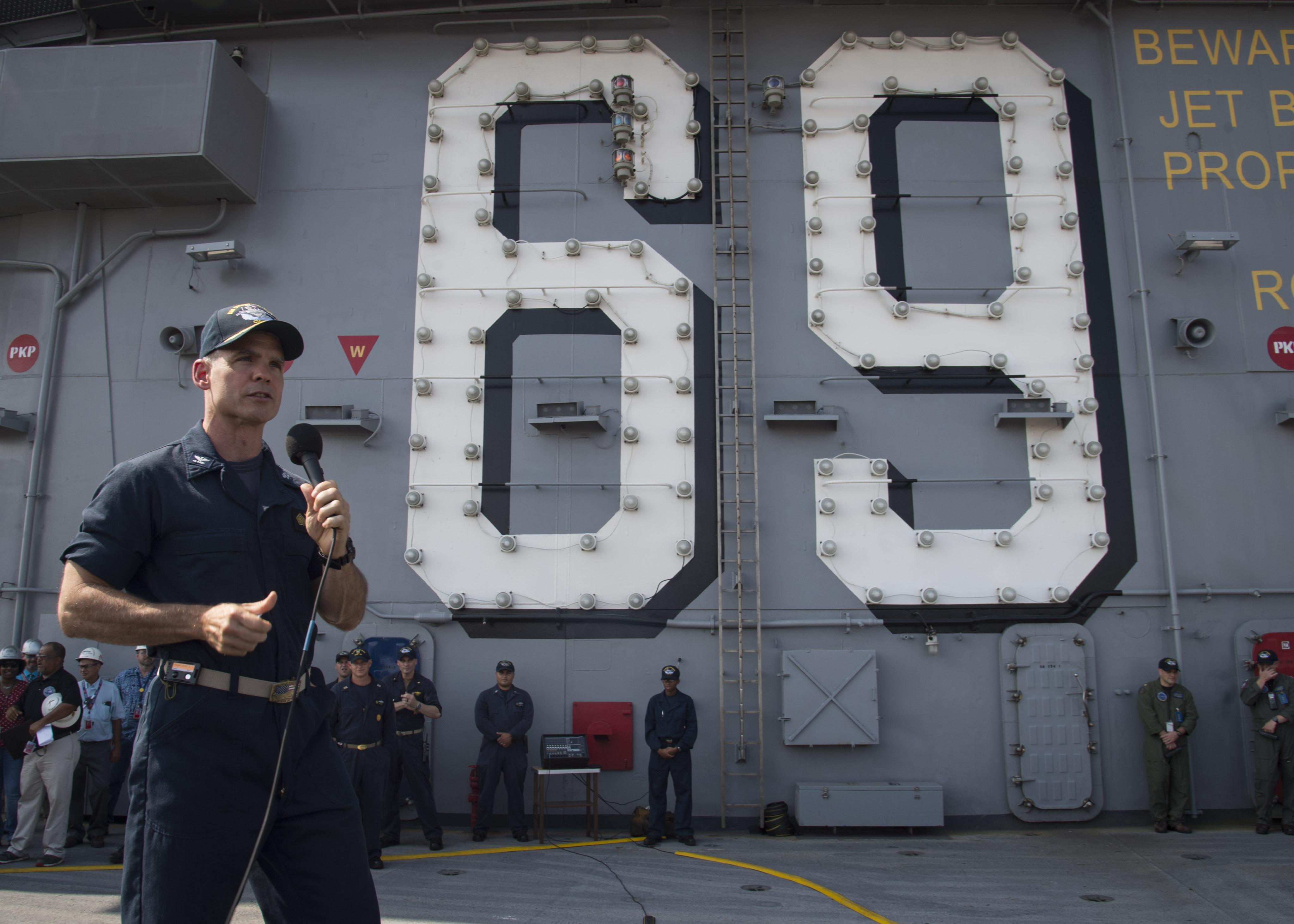 Uss Nimitz Deployment Schedule 2019 USS Dwight D. Eisenhower Repair Period Triples in Length; Carrier