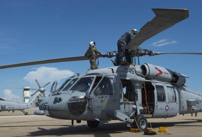 Hurricane Florence: Navy Evacuating East Coast Aircraft; Coast Guard Sorties Cutters
