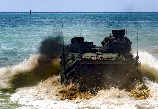 Marine Corps Cancels AAV Survivability Upgrade