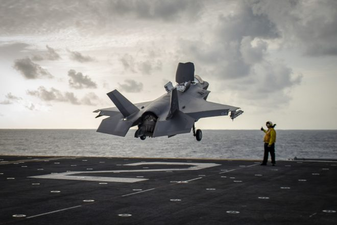 Marines Deploy First F-35Bs to the Middle East; 13th MEU, Essex ARG Test Battle Readiness