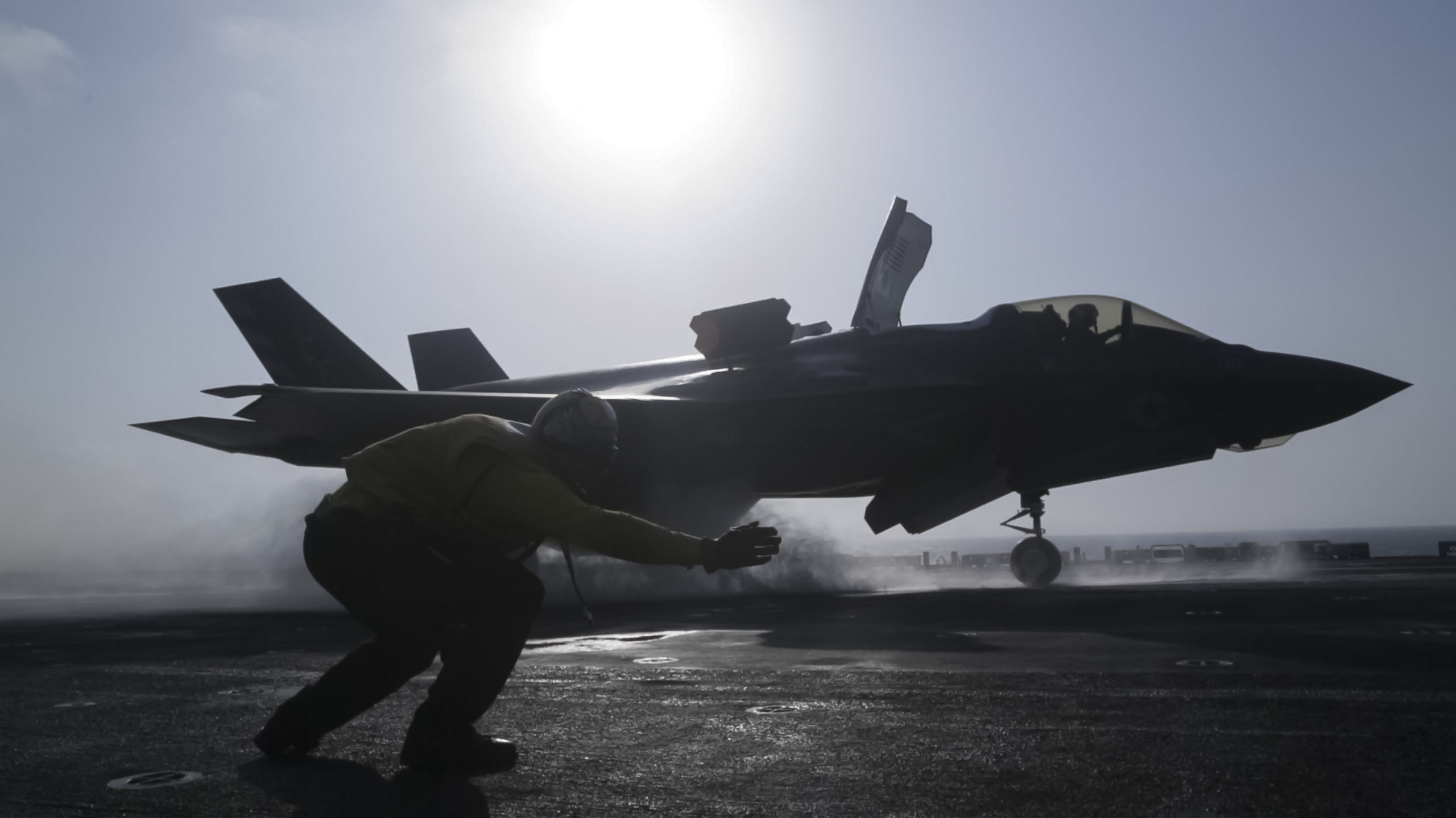 Marines' F-35B Joint Strike Fighter Conducts First-Ever