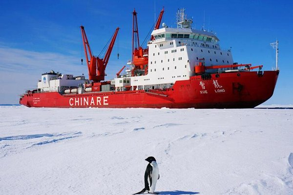 China Expanding Economic Influence in Americas, Research in the Arctic