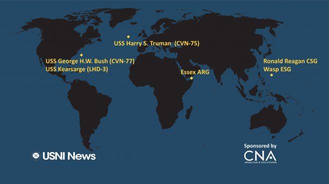 USNI News Fleet and Marine Tracker: Sept. 17, 2018