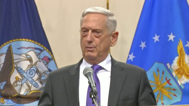 SECDEF Mattis' Speech to Cadets at Virginia Military Institute
