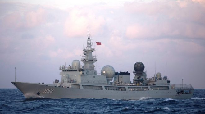 China Sent Uninvited Spy Ship to Russian Vostok 2018 Exercise Alongside Troops, Tanks