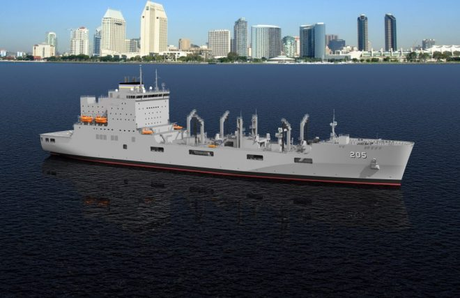 Construction Starts on Future Oiler USNS John Lewis