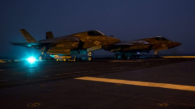 Marines' F-35B Joint Strike Fighter Conducts First-Ever Combat Mission with Strike in Afghanistan