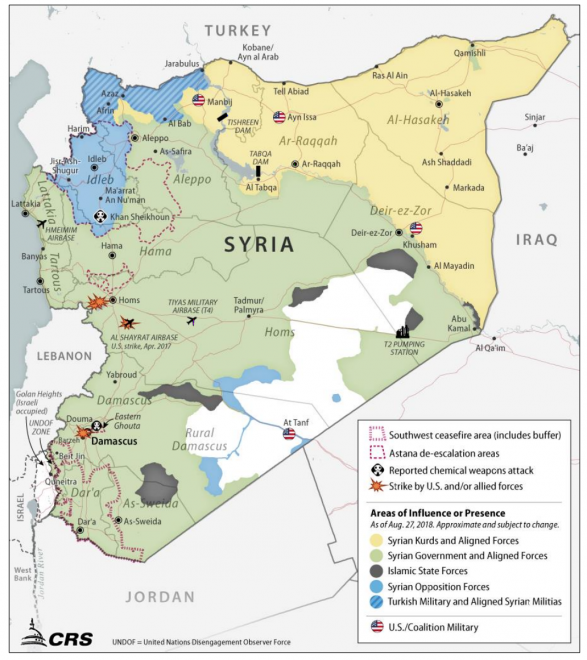 Report to Congress on Armed Conflict in Syria