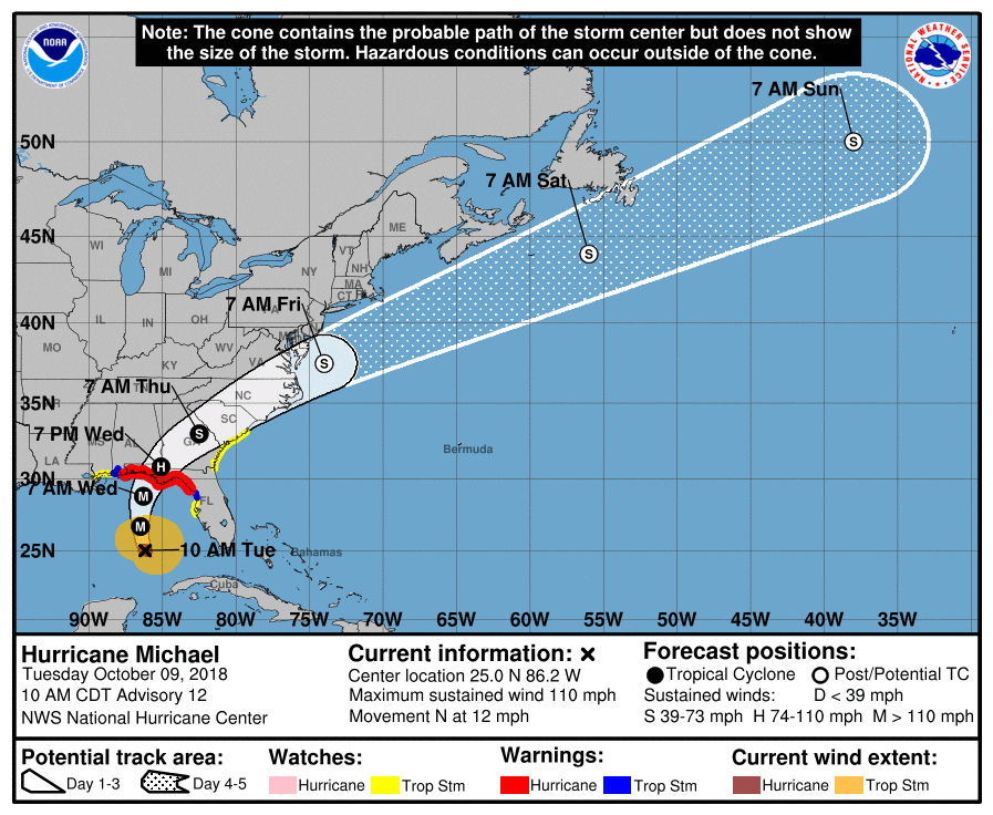Navy Units in Florida are Bracing for Hurricane Michael - USNI News