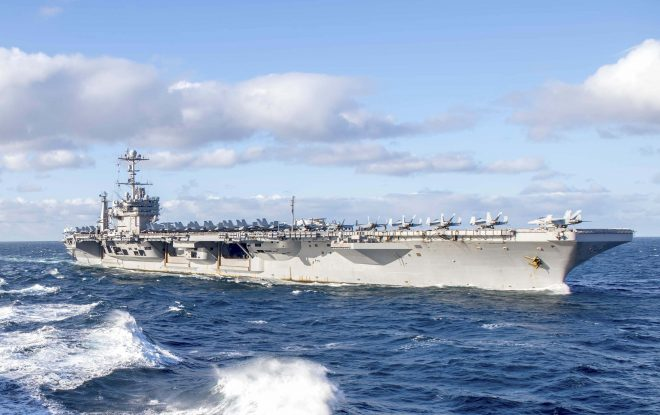 HASC Leaders Unconvinced by Pentagon's Plan to Cut Aircraft Carrier