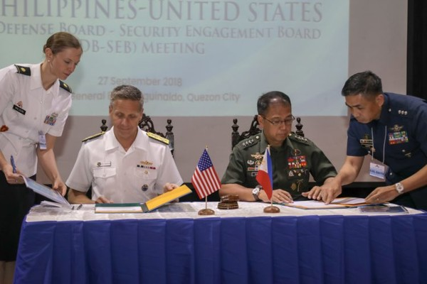 U.S. And Philippine Militaries Will Increase Security Cooperation in 2019