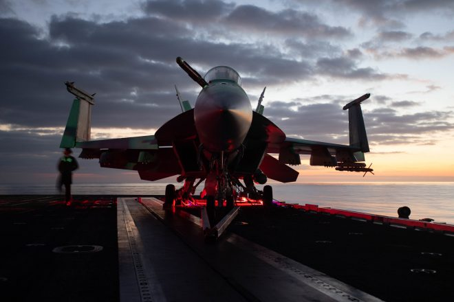 Navy Working Through Plan to Hit 80 Percent Hornet Mission Capable Target