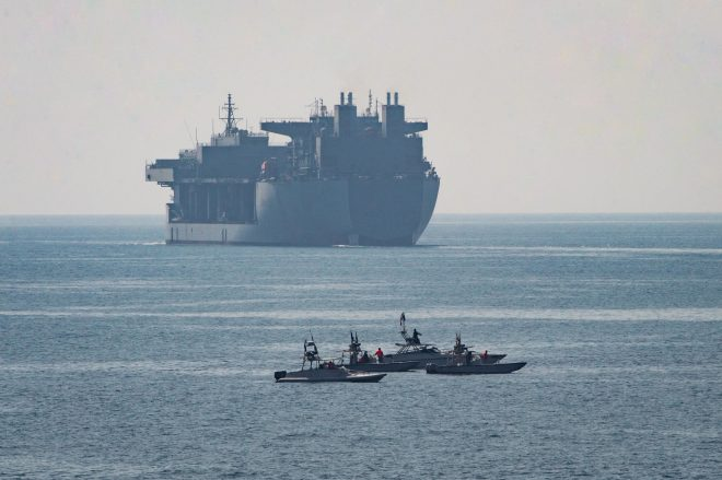 New U.S. Effort in Strait of Hormuz Echoes Past Clashes with Iran