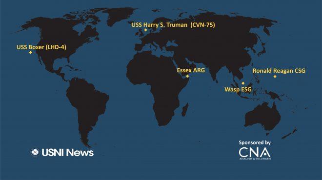 USNI News Fleet and Marine Tracker: Oct. 1, 2018