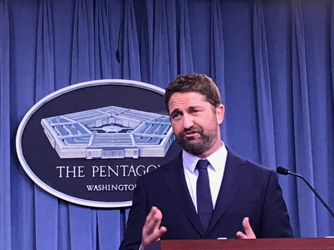 With 'Hunter Killer' Gerard Butler Wants to Revamp the Submarine Movie, Navy Wants to Boost Recruiting