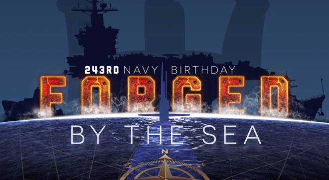 2018 Navy Birthday Message from CNO, MCPON