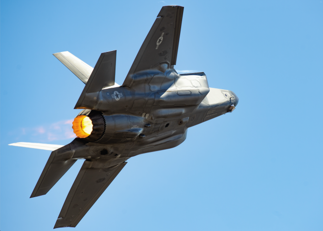80 Percent of F-35s Cleared to Resume Flight Operations