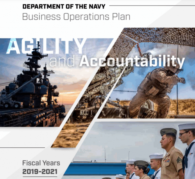 Department of Navy Releases New Business Operations Plan