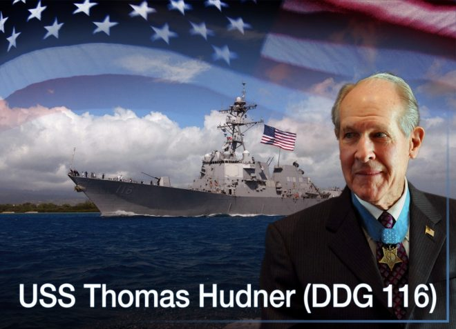 Destroyer Thomas Hudner Set to Commission on Saturday in Boston