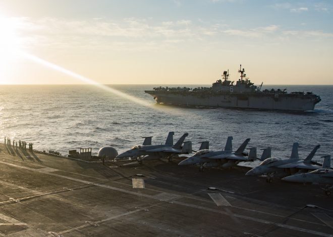 Navy, Marines Rethinking How to Build Future Fleet with Unmanned, Expeditionary Ships