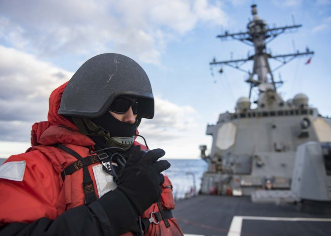 Truman CSG: Arctic Strike Group Operations Required Focus on Logistics, Safety