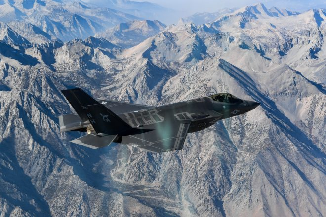 Navy Stands Up Joint Strike Fighter Wing to Oversee F-35C Operations, Training, Manning