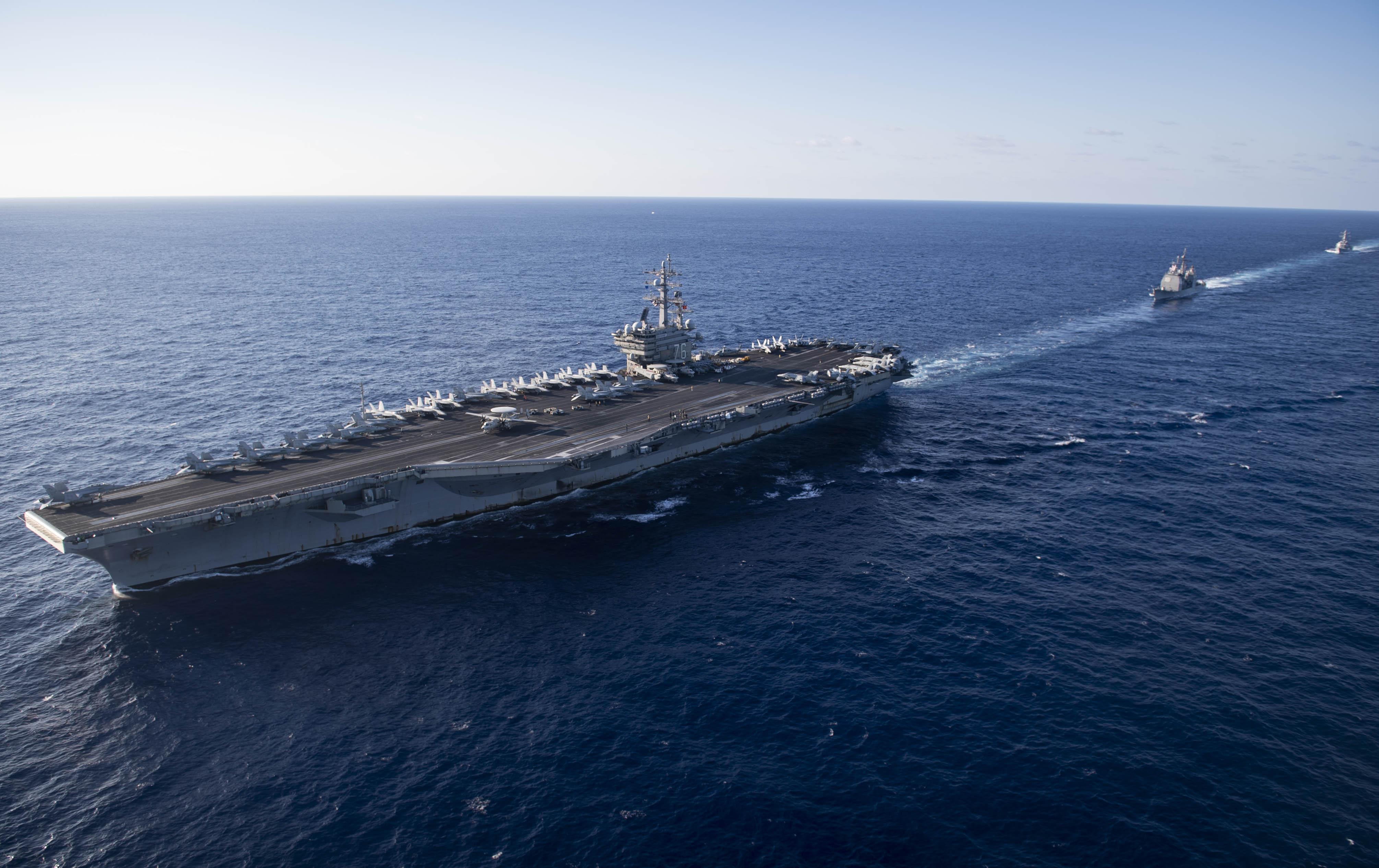 USNI News Fleet and Marine Tracker: Dec  3, 2018
