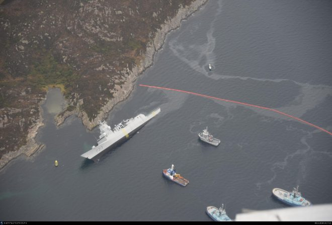VIDEO: Report on 2018 Collision of Norwegian Warship Helge Ingstad